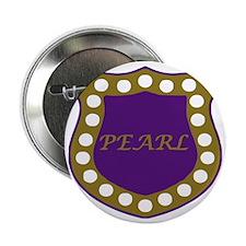 """Omega Pearl Shield 2.25"""" Button"""