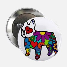 "Frenchie Power 2.25"" Button"