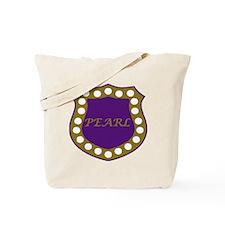 Omega Pearl Shield Tote Bag