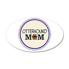 Otterhound Dog Mom Wall Decal