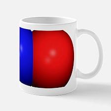 Nitrous oxide molecule Mug
