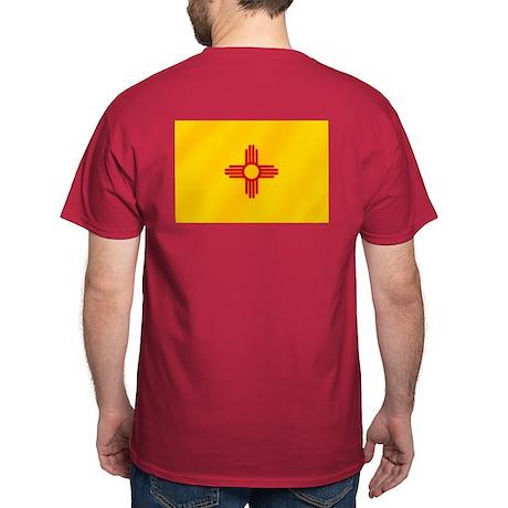 New Mexico Flag Dark T-Shirt