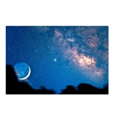 Night sky Postcards (Package of 8)