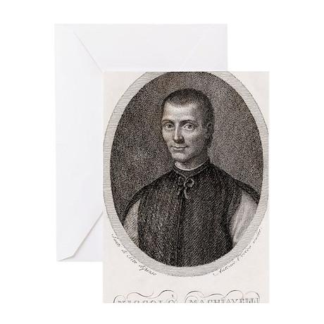 Niccolo Machiavelli, Italian philoso Greeting Card