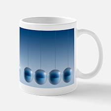 Newton's cradle, artwork Mug