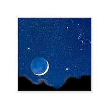 "Night sky Square Sticker 3"" x 3"""