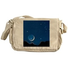 Night sky Messenger Bag