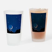 Night sky Drinking Glass