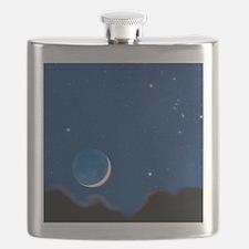 Night sky Flask