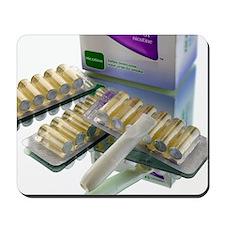 Nicotine inhalator Mousepad