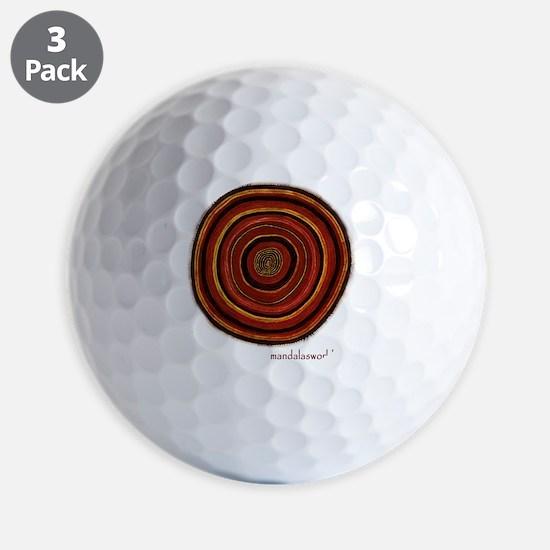 Aboriginal Mandala n3 Golf Ball