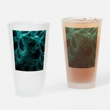 Neural network, abstract artwork Drinking Glass