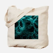 Neural network, abstract artwork Tote Bag