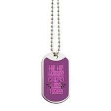 last day of chemo Dog Tags
