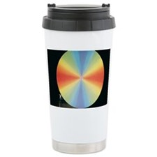 Newton's colour disc Travel Mug