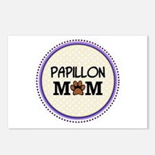 Papillon Dog Mom Postcards (Package of 8)