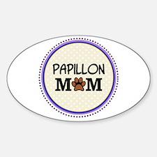 Papillon Dog Mom Decal