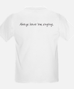 Songwriting for Kids: Kids T-Shirt