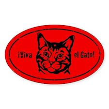 Viva el Gato! Cat Revolution Decal