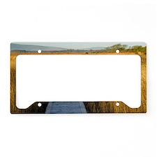 Nature reserve boardwalk License Plate Holder