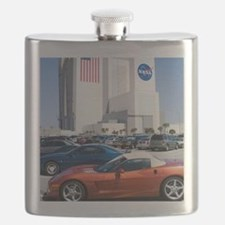 NASA vehicle assembly building Flask