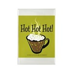 Hot Hot Hot Coffee 2 Rectangle Magnet (10 pack)