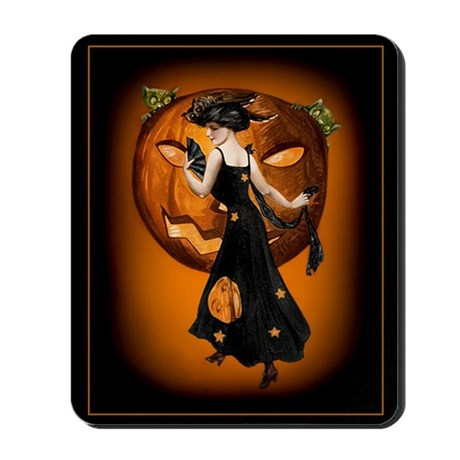 Pumpkin Queen, Card Mousepad