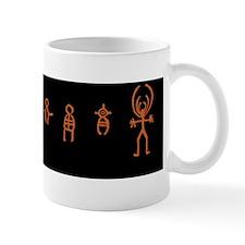 Native American anthropomorths Mug