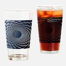 Nanotube technology, computer artwo Drinking Glass