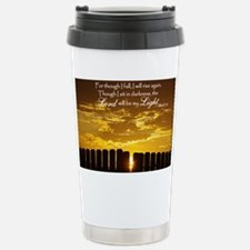 Lord will be my Light Stainless Steel Travel Mug