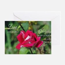 Love One Another Greeting Card