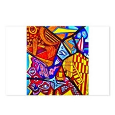 Modern Abstract Art Postcards (Package of 8)
