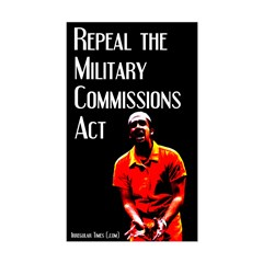 Military Commissions Act Prisoner Decal