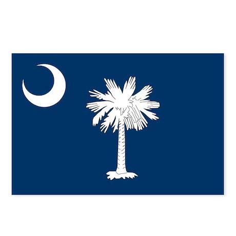 South Carolina Flag Postcards (Package of 8)