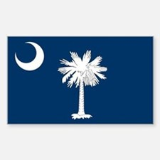 South Carolina Flag Decal