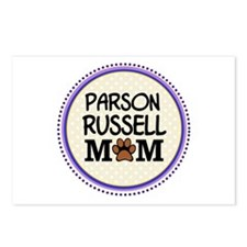 Parson Russell Dog Mom Postcards (Package of 8)