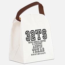 TEXAS - AIRPORT CODES - 32TS - SE Canvas Lunch Bag