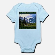 North Cascades National Park Body Suit