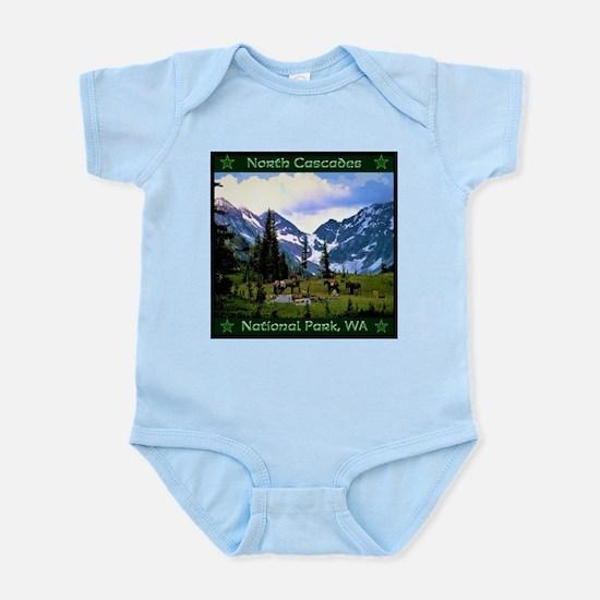 North Cascades National Park Body Suit
