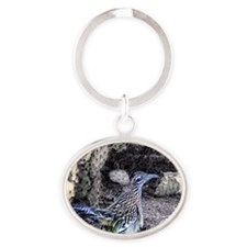Arizona Roadrunner Oval Keychain