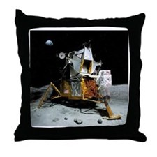 Moon landing, 21 July 1969 Throw Pillow
