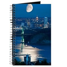 Moon over Vancouver Journal