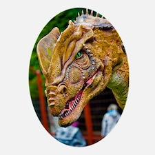 Model dinosaur Oval Ornament