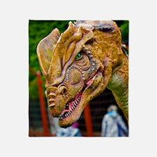 Model dinosaur Throw Blanket