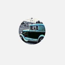 Blue-Gray Mafia Staff Car Mini Button