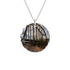 Train Trestle Tracks Necklace