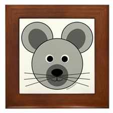 Marvin the Mouse Framed Tile