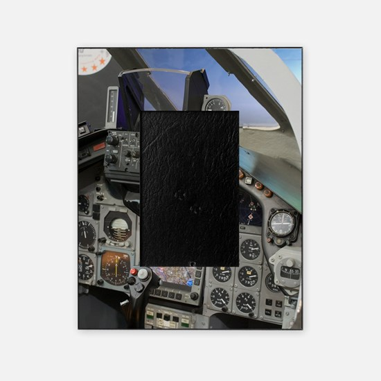 Military aircraft cockpit Picture Frame