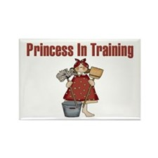Princess in Training Rectangle Magnet (10 pack)