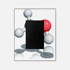 Methanol alcohol molecule Picture Frame